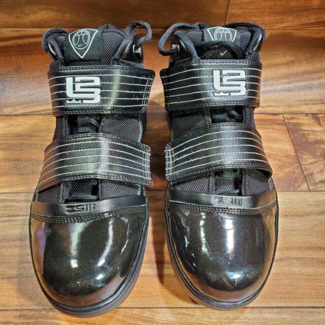 RARE 2009 Nike DREAM Zoom Soldier 3 III TB Lebron James Black Shoes 11