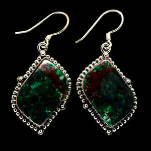 Chrysocolla-925-Sterling-Silver-Earrings-1-3-4-034-Ana-Co-Jewelry-E392887F