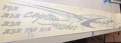 """232 SPECIAL EDITION PORT DECAL 79 1//2/"""" X 8 1//4/"""" BOAT RINKER CAPTIVA 192 212"""