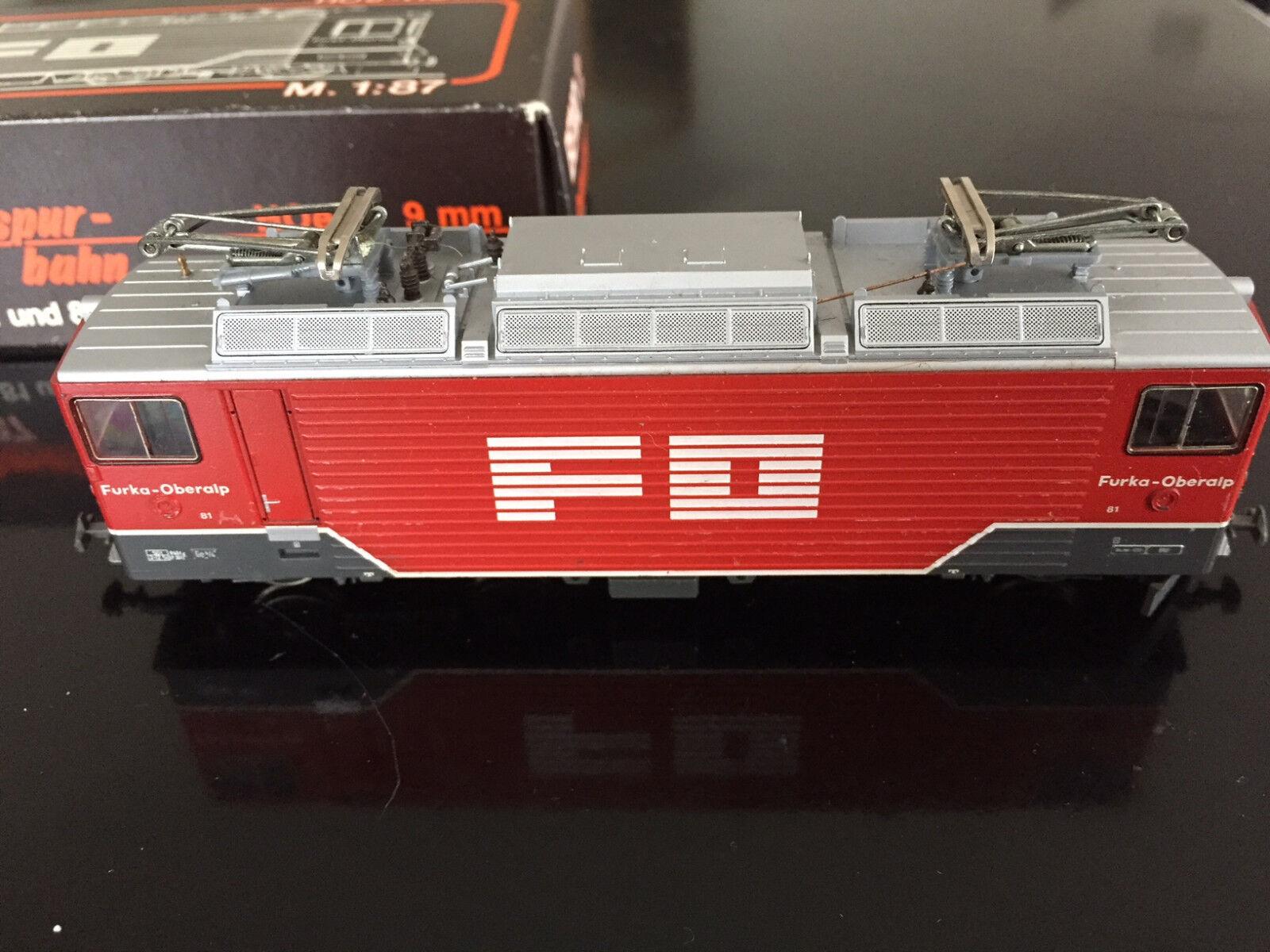 BEMO 1260 1 FO Ge 4 4  Furka-Oberalp   | Bekannt für seine hervorragende Qualität
