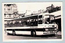 Postcard size Coach Photo ~ LRT Lothian 214: 1973 Duple Bedford YRT - Edinburgh