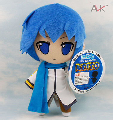 New Vocaloid Hatsune Miku 10'' Kaito Soft Cute Boy Plush Toy Doll Gift
