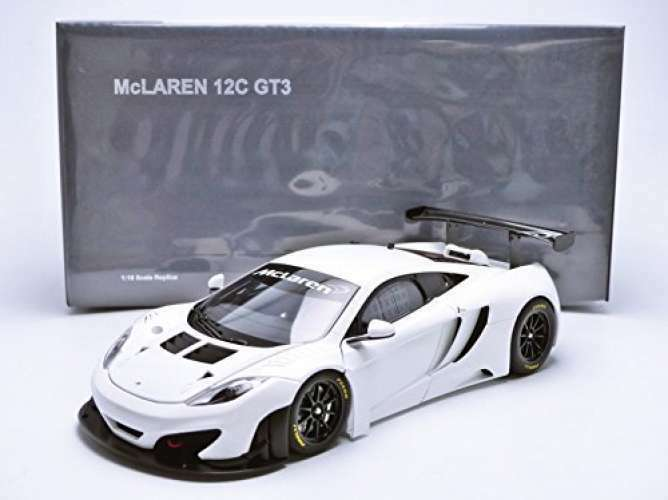 AUTOart 1 18 McLaren MP4-12C GT3 GT3 GT3 White Finished Product F S from Japan 30851b
