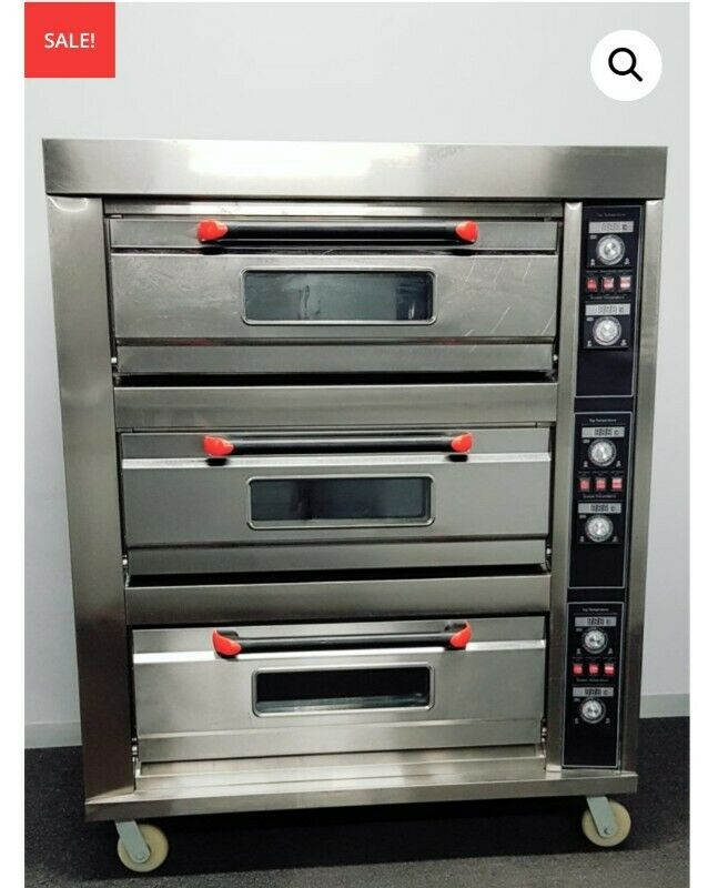 Industrial Bakery Equipment Baking Ovens Bread Machines