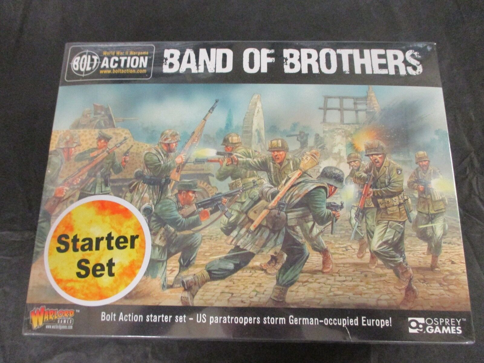 Bolt Action WW2 Starter Set Band of Bredhers NIB  NEW  Warlord Games