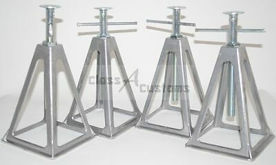 4 pk RV 6000 pound capacity stack stacker JACK STAND Pop-up camper stabilizer