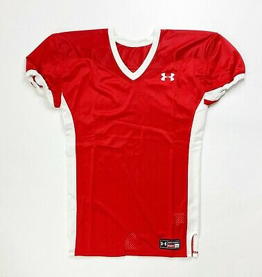 Under Armour Game Stock Hammer Football Jersey Youth Boy/'s L XL Blue White