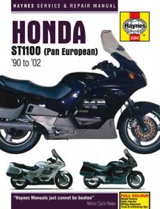 Haynes Manuale Officina Honda ST1100 Pan European 1990-2002 Servizio di Riparazione