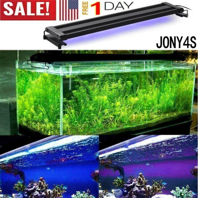 Mingdak LED Aquarium Light For Fish Tanks,18 LEDS,8-Inch,Blue