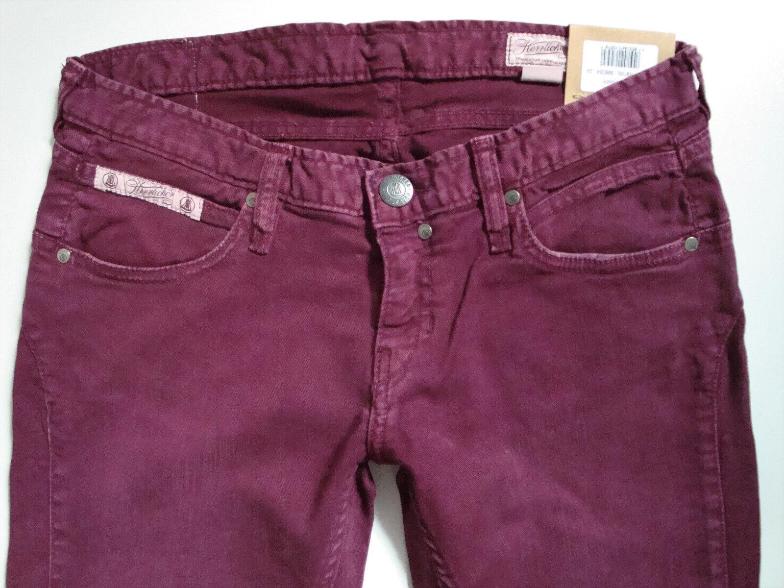 HERRLICHER  Jeans  TOUCH  5630 N9100  Rosa  Beere  W26, W27, W29, W30  Neu