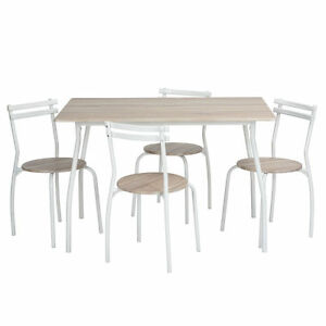 3pcs 5pcs Kitchen Garden Dining Table And Chairs Set EyeCatching Design UK St