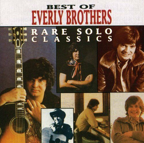 The Everly Brothers, Everly Brothers - Rare Solo Classics [New CD] Manufactured