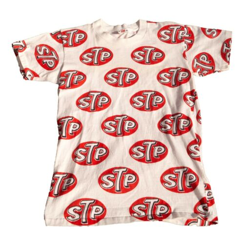 STP 1960s Hanes T-Shirt Motor Oil Once Upon A Time