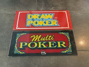 Best option on multi strike poker slot machines
