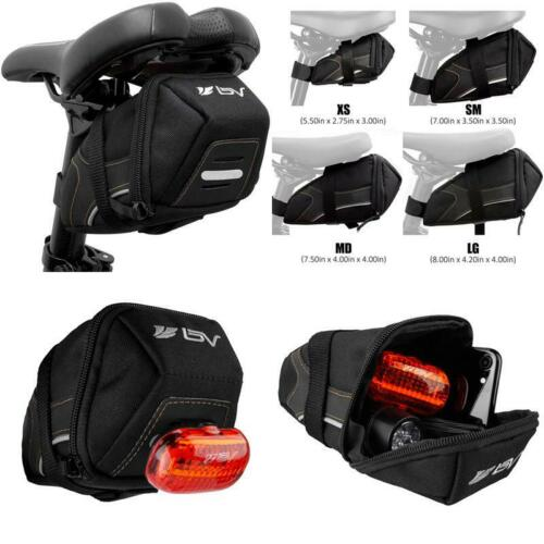 Bv Bicycle Y-Series Strap-On Bike Saddle Bag//Bicycle Seat Pack Bag Cycling Wedg