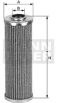 HYDRAULIKFILTER MANN-FILTER HD 518//5 X