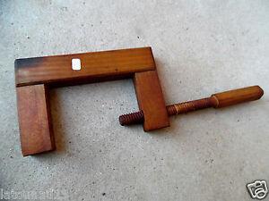 n 9 old tool outil ancien serre joint en bois de. Black Bedroom Furniture Sets. Home Design Ideas