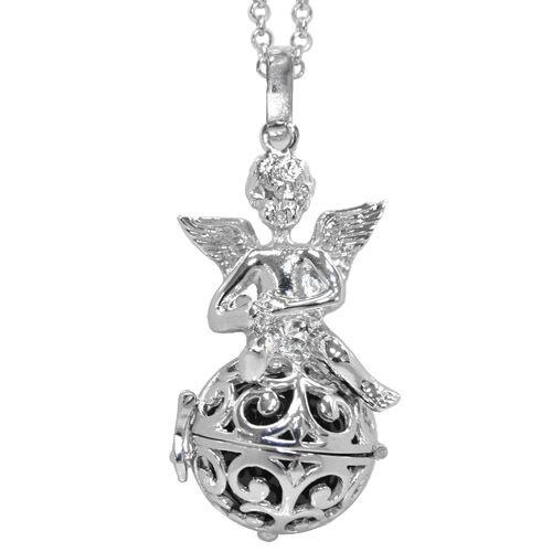 Harmony pelota collar Lang armonía amuleto cadena Ángel incl sonido bala