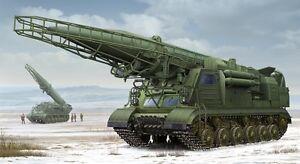 Ex Soviet 2p19 Launcher Avec Kit Plastique Missile R-17 au 1/35, modèle 1024