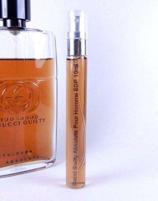 Gucci Guilty Absolute Pour Homme Eau De Parfum 10ml Glass Spray Men