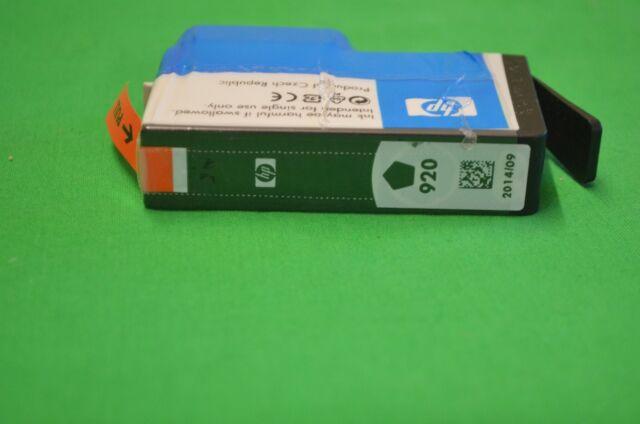 HP 920 Black CD971AE BGX 920  Date 2014 - No Box