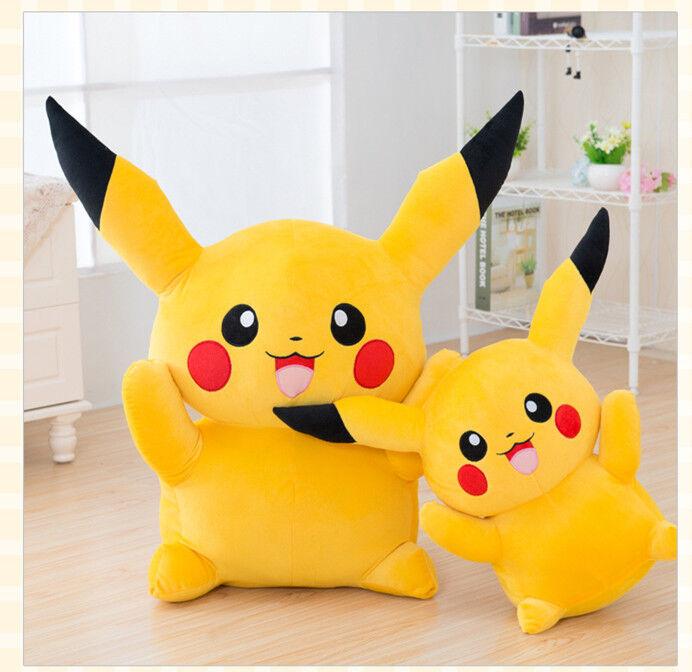 Giant Huge Pokemon Go Pikachu Soft Stuffed Plush Doll Large Toy Kid Gift uk2019