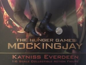 1//6 Scale Toy Hunger Games Katniss Everdeen Black Boots