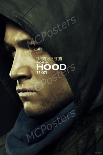MCP793 Posters USA Robin Hood 2018 Movie Poster Glossy Finish