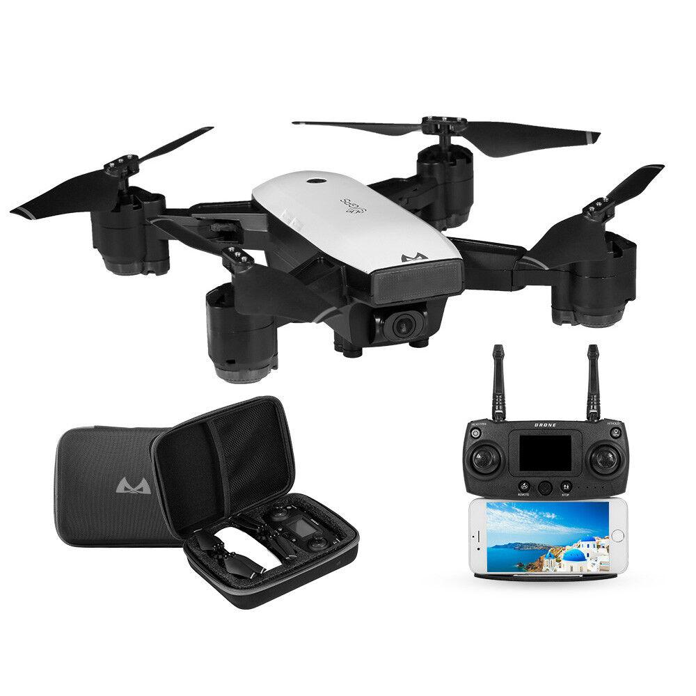 SMRC S20 2.4G GPS RC Drone 1080P WiFi FPV Wide-angle Camera Follow Me Quadcopter