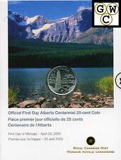 2005 First Day Strike Alberta Centennial 25ct P (11653)