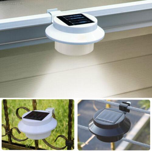 13CA LED Solar Lights Outdoor Supply Lighting Fixture Energy Saving Fence Light