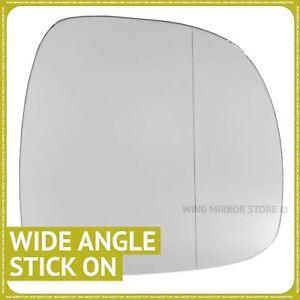 Mercedes Vito W639 2003-2010 left passenger side wide angle mirror glass 102LAS