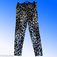 Girls Leopard Print Leggings Viscose/Elastane Age 7 - 13 Years *Fast despatch