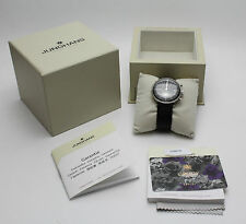 ORIGINALE JUNGHANS CHRONOSCOPE-MAX BILL Orologio in scatola originale con documenti