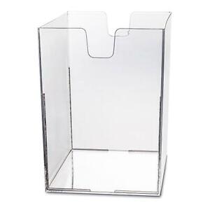Koziol-Cube-Display-Thekenhalter-Blatthalter-Aufbewahrungseinheit-Transparent