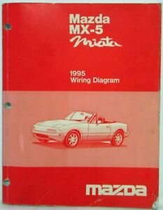 1995 Mazda MX-5 Miata Electrical Wiring Diagram | eBay