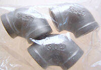 Fast Ship Stainless Steel Elbow 304 3/4 150 Lot Of 3 (f58)
