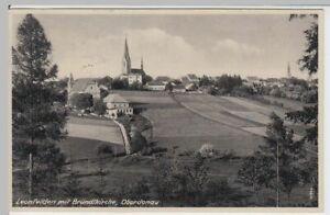 54544-AK-Leonfelden-mit-Bruendlkirche-Oberdonau-1942
