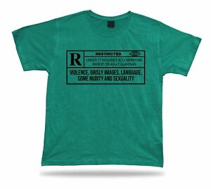 Image of: Streetlight People Image Is Loading Ratedrestrictedrfunnyagestontestshirt Ebay Rated Restricted Funny Age Stontes Shirt Classic Apparel Cartoon