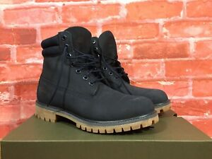 timberland blue icon 6 in double collar boot wide