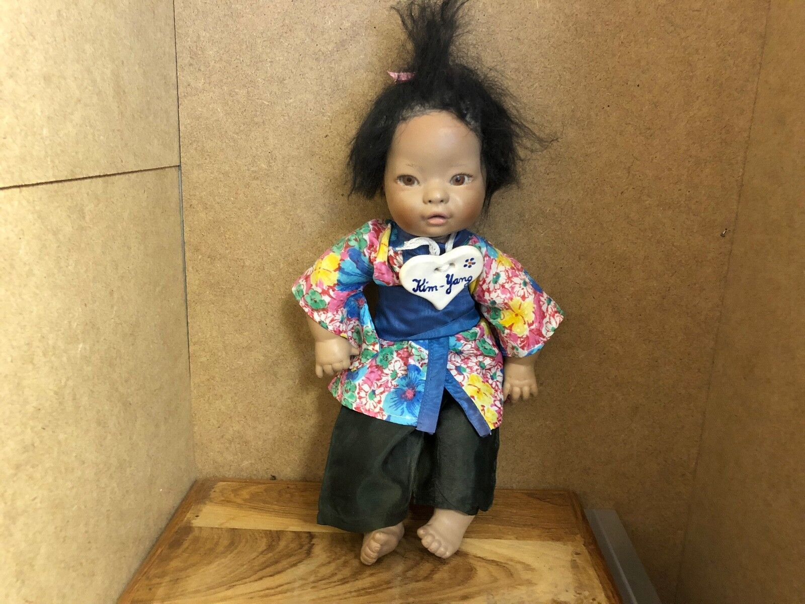 Dolls Dolls & Bears Top Zustand Künstlerpuppe Puppe Vinyl Puppe 57 Cm