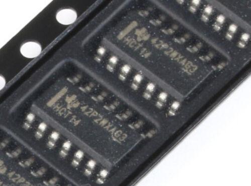 10pcs Original SOP-14 SN74HCT14DR Non-Schmitt Schmitt Trigger 6-Door 6 Input 4mA