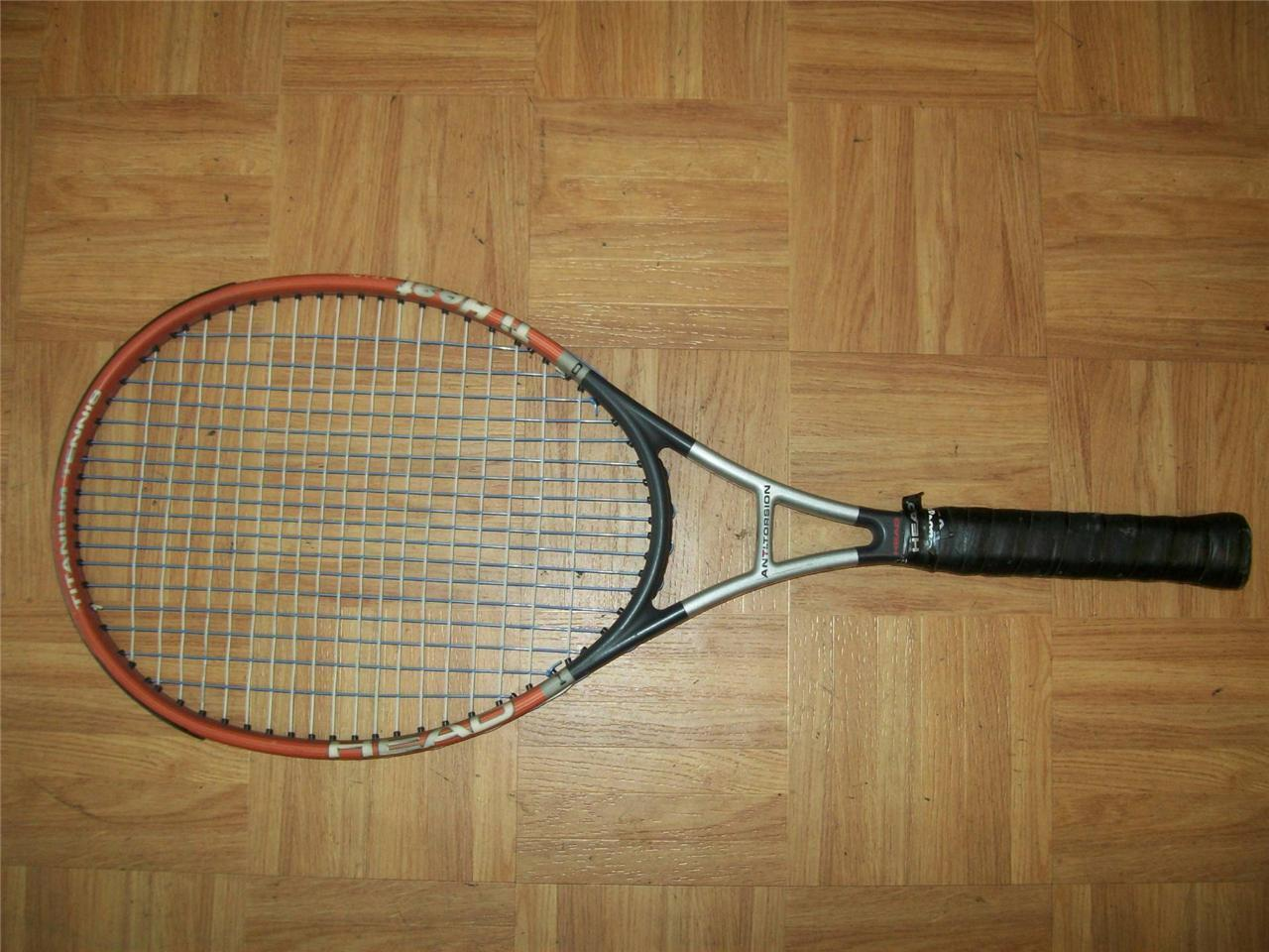 Head Ti. Heat Midplus 102 head  4 5 8 grip Tennis Racquet