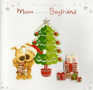 image is loading boofle to mum amp her boyfriend christmas card - Boyfriend Christmas Card