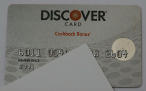 Details about Expired Discover Bank Cashback Silver Credit Card