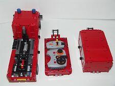 Bauanleitung instruction Feuerwehr Wechsellader Sp Eigenbau Moc aus Lego Technic