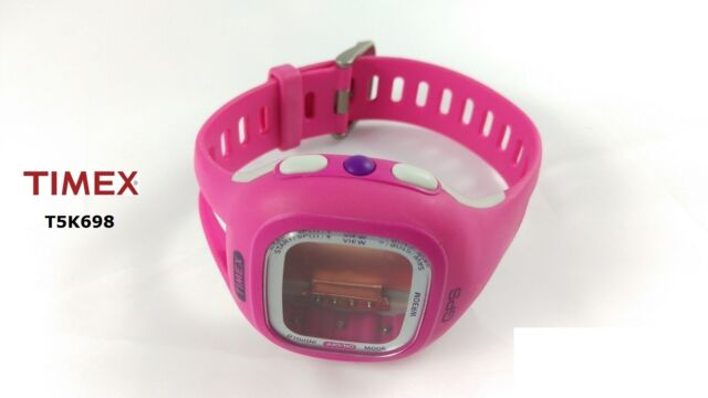 Timex Replacement Band T5K698 Ironman Marathon GPS - Complete Case incl. Band