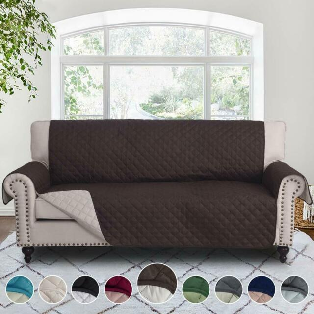 Sofa cover Reversible Furniture Protector,slipcover,Water Resistant,Couch,pet