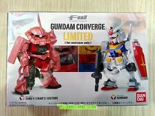 Bandai FW Gundam Converge Limited BoxSet (RX-78-2 GUNDAM & MS-06S ZAKU II) C3