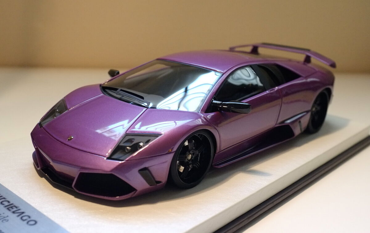 1 18 APM Lamborghini Veilside Murcielago LP640 MR lila Davis Giovanni